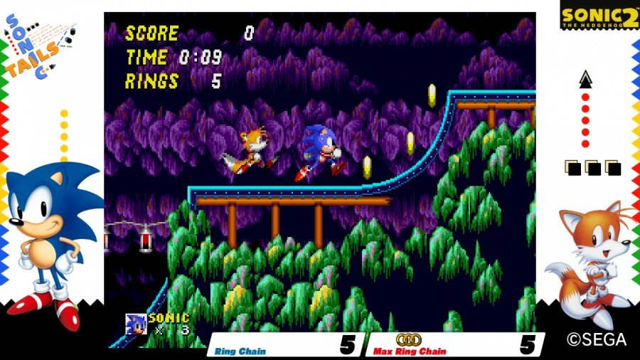 SEGA AGES Sonic The Hedgehog 2 Review - Screenshot 1 of 4