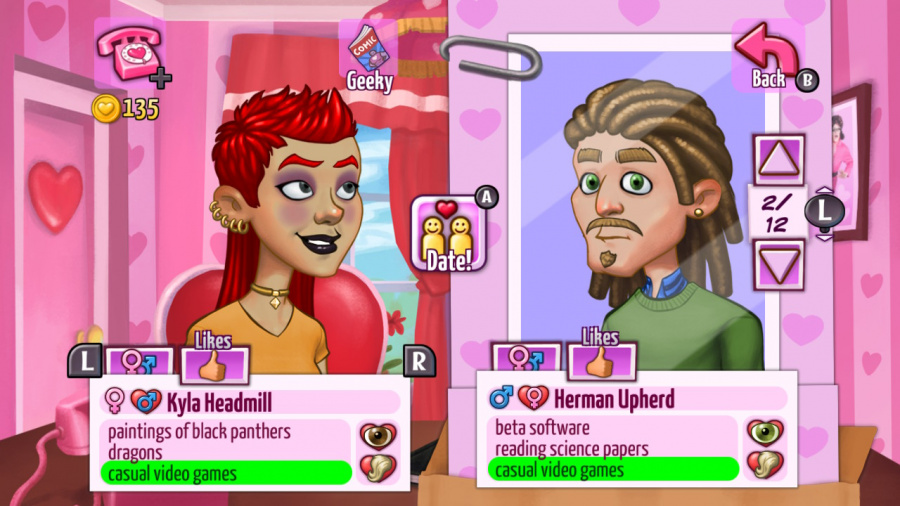 Kitty Powers' Matchmaker Review - Screenshot 2 of 3