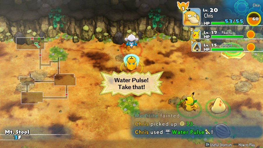 Pokémon Mystery Dungeon: Rescue Team DX Review - Screenshot 5 of 6