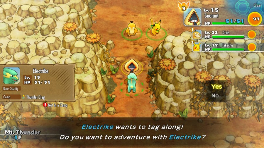 Pokémon Mystery Dungeon: Rescue Team DX Review - Screenshot 1 of 4