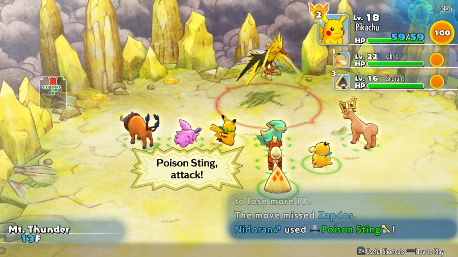Pokémon Mystery Dungeon: Rescue Team DX Review - Screenshot 1 of 6