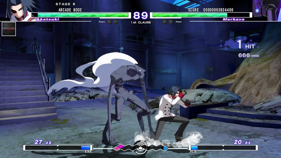 Under Night In-Birth Exe:Late[cl-r] Review - Screenshot 1 of 7