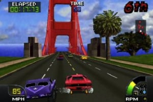 Cruis'n USA Screenshot