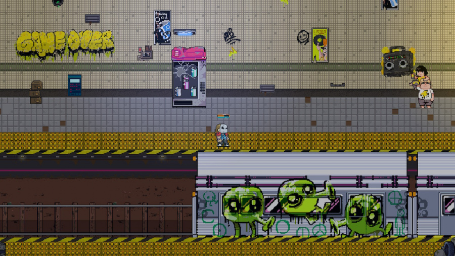 Neon City Riders Review - Screenshot 3 of 4
