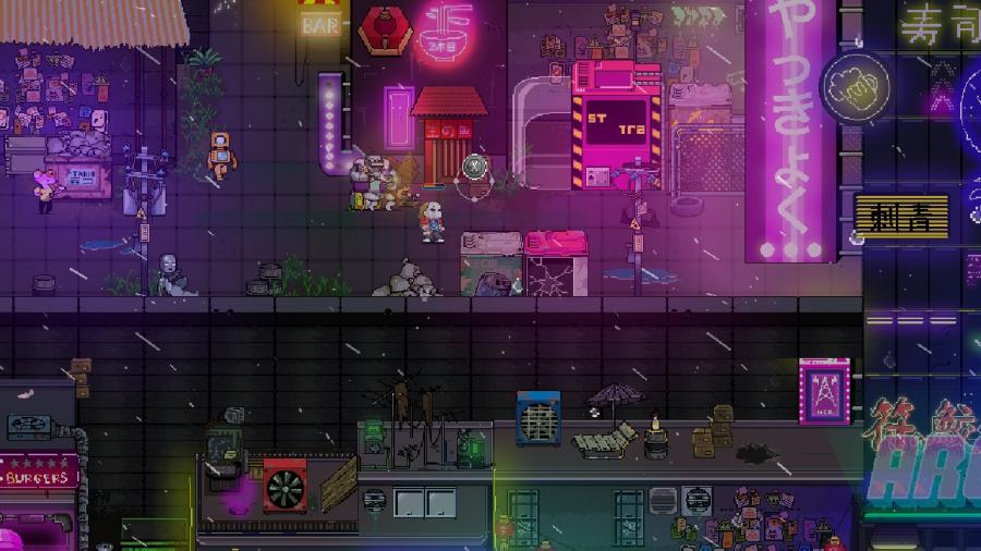 Neon City Riders Review - Screenshot 4 of 4