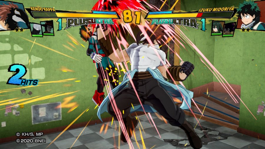 My Hero One's Justice 2 Review - Screenshot 2 of 3