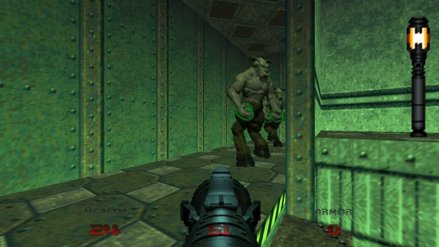 Doom 64 Review - Screenshot 1 of 4