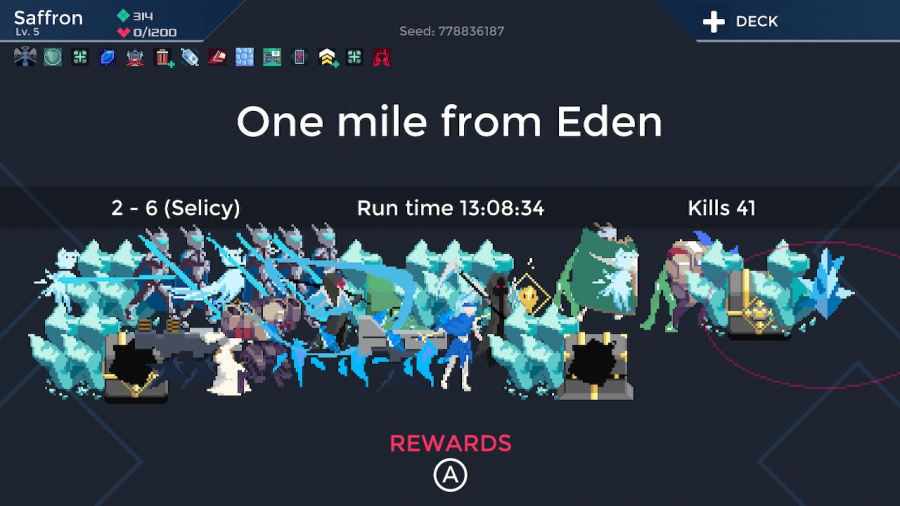 One Step From Eden Review - Screenshot 2 of 3
