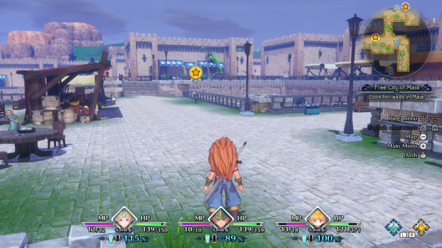 Trials of Mana Review - Screenshot 5 of 7