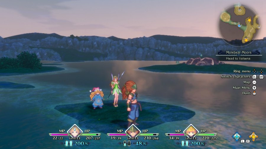 Trials of Mana Review - Screenshot 1 of 7