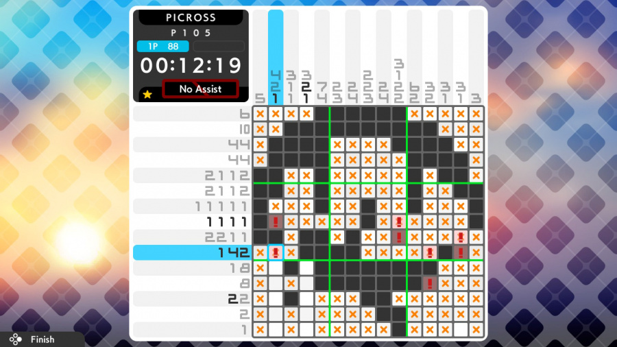 Picross S4 Review - Screenshot 2 of 4