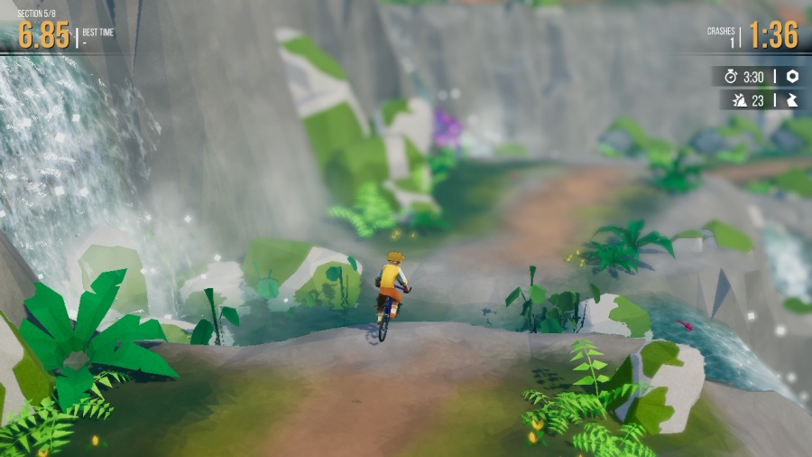 Lonely Mountains: Downhill Review - Screenshot 2 of 4