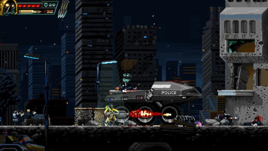 Huntdown Review - Screenshot 1 of 5
