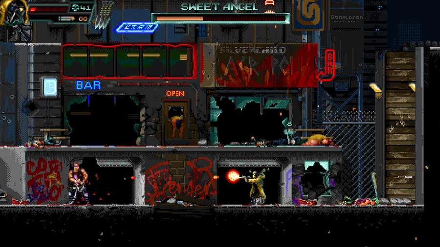 Huntdown Review - Screenshot 5 of 5