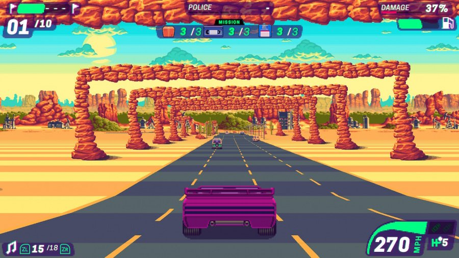 80's Overdrive Review - Screenshot 1 of 5