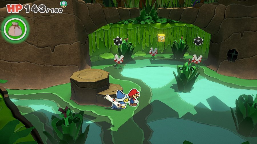 Paper Mario: The Origami King Review - Screenshot 1 of 7