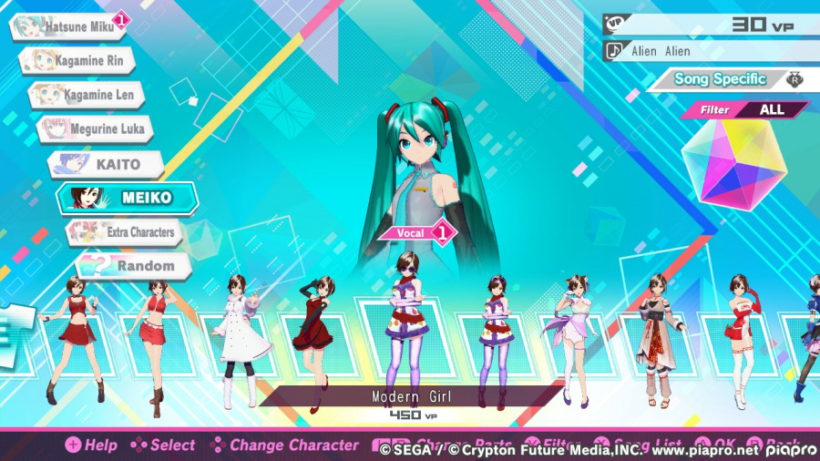 Hatsune Miku: Project DIVA Mega Mix Review - Capture d'écran 1 de 5
