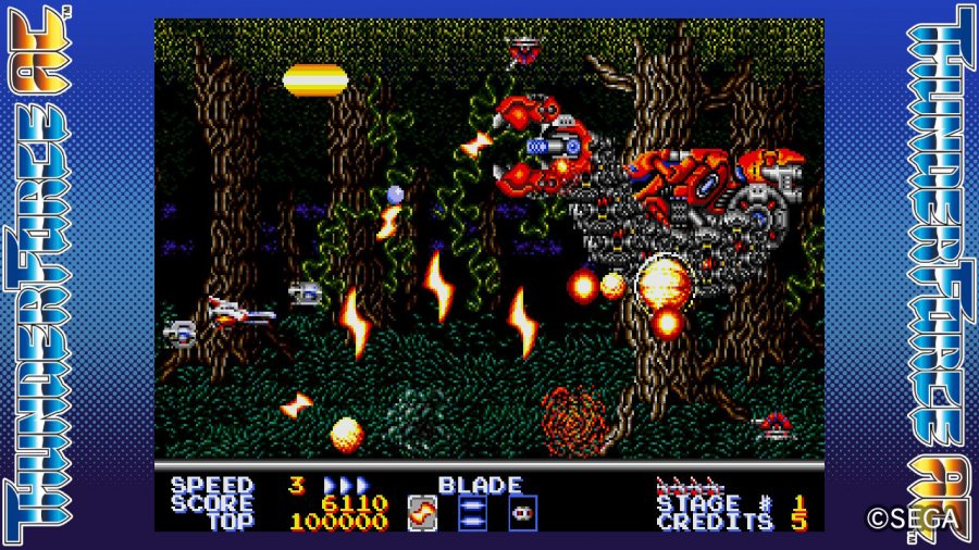SEGA AGES Thunder Force AC Review - Screenshot 4 of 5
