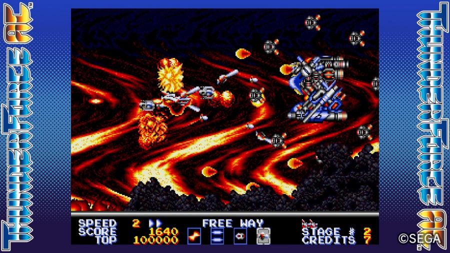 SEGA AGES Thunder Force AC Review - Screenshot 2 of 5