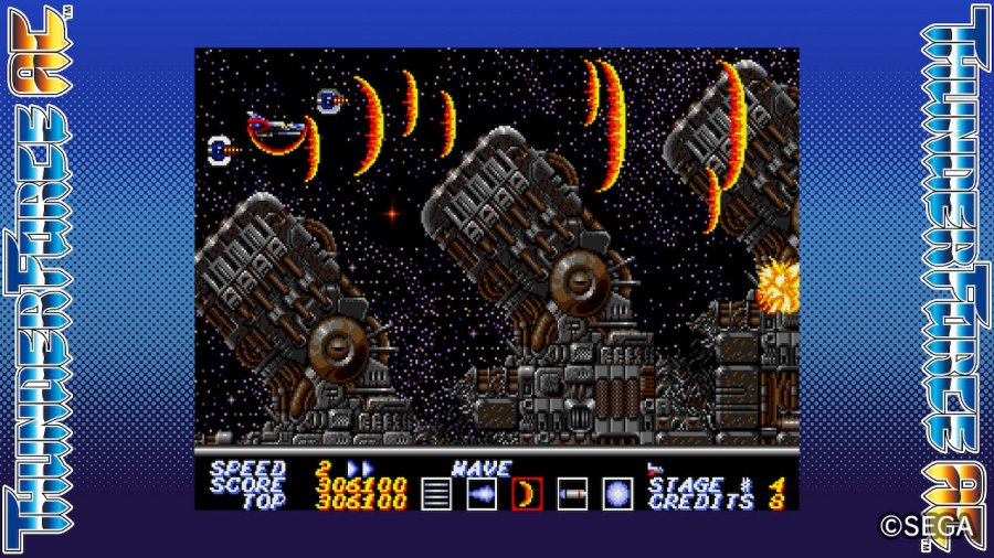 SEGA AGES Thunder Force AC Review - Screenshot 2 of 5