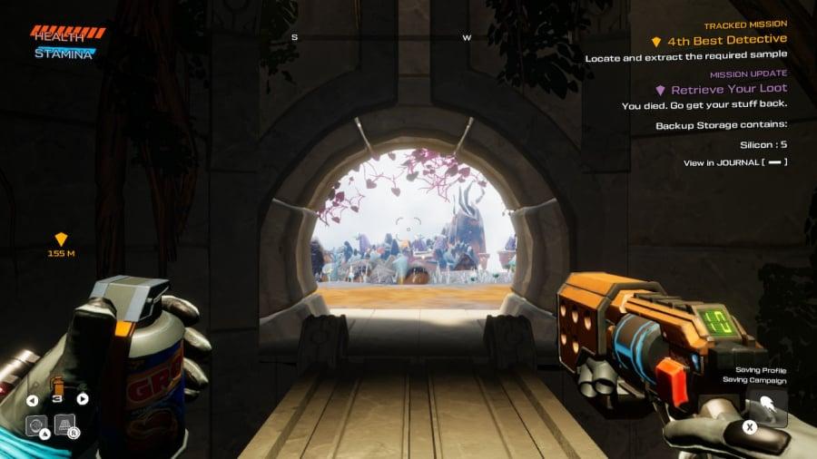 Viagem ao Savage Planet Review - Captura de tela 2 de 7