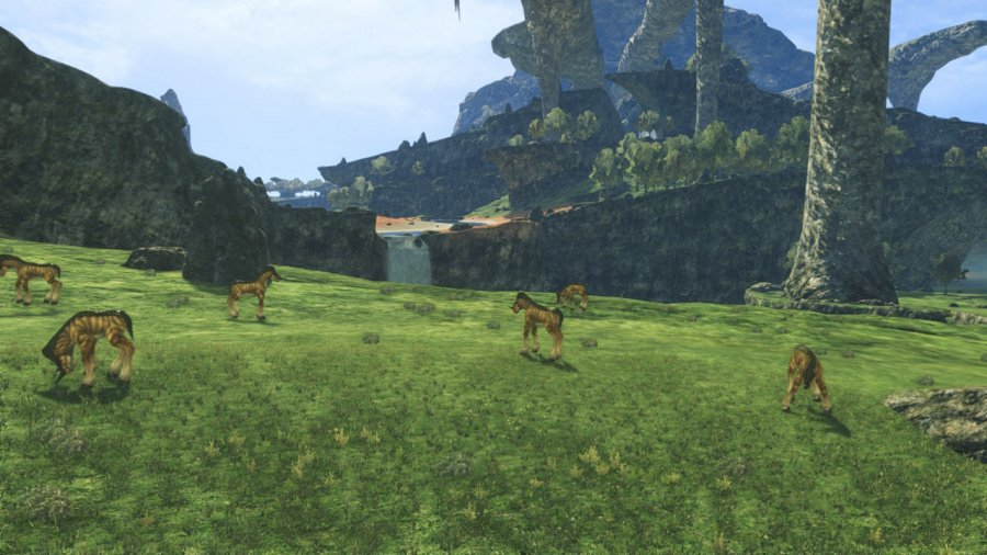 Xenoblade Chronicles: Definitive Edition Review - Screenshot 1 of 9
