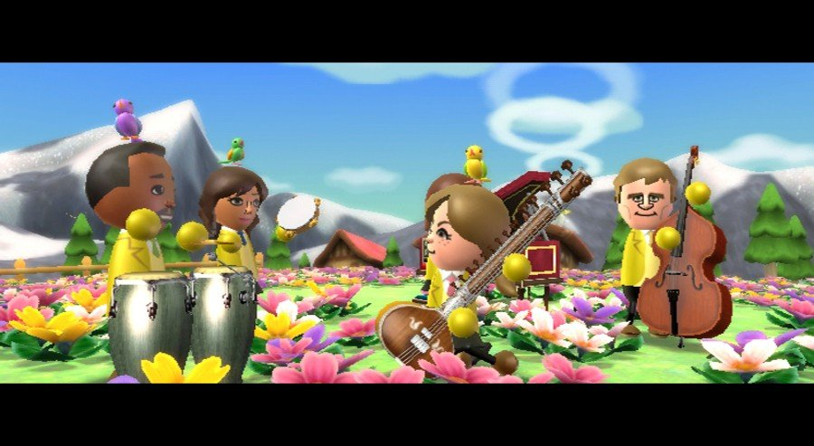 Wii Music Screenshot