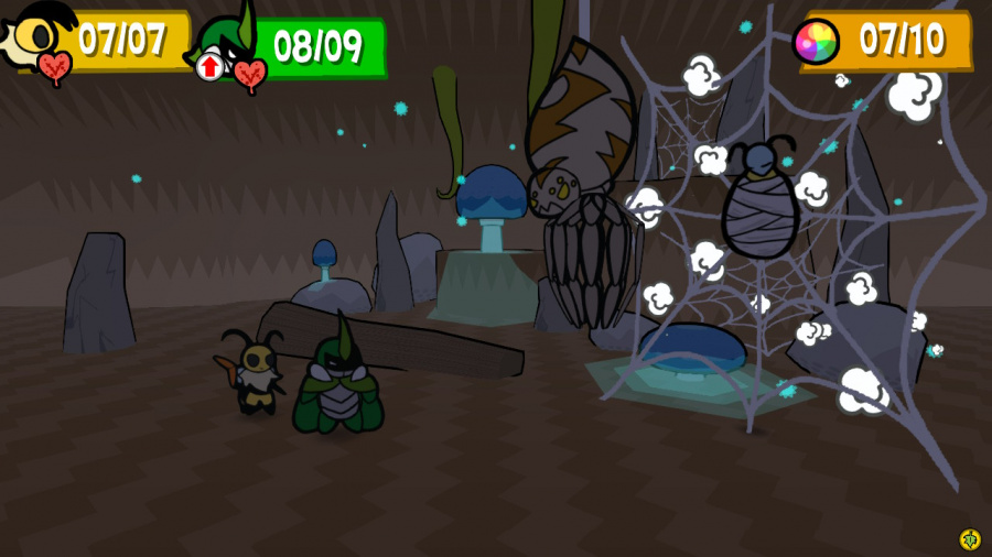 Bug Fables: The Everlasting Sapling Review - Screenshot 2 of 4