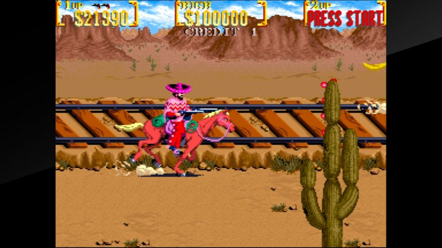 Arcade Archives Sunset Riders Review - Screenshot 1 of 4