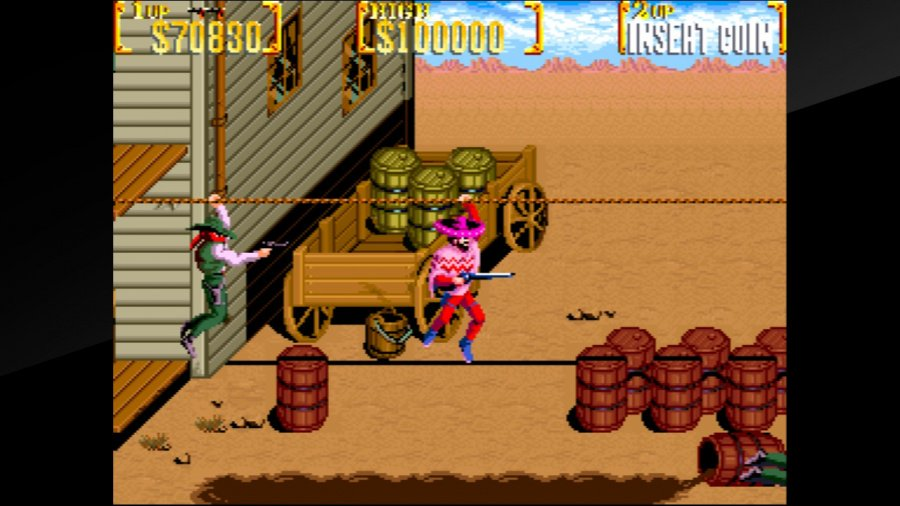 Arcade Archives Sunset Riders Review - Screenshot 2 of 4