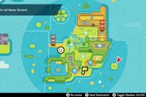 Pokémon Sword and Shield - The Isle Of Armor Screenshot