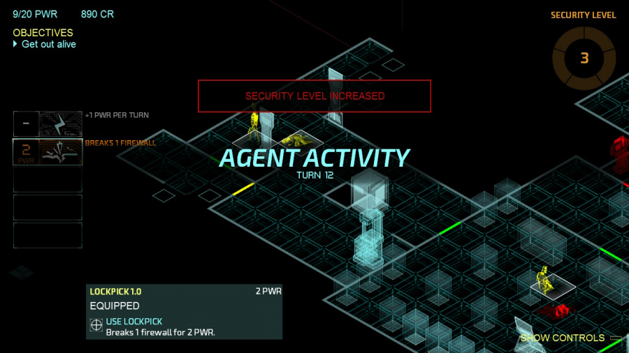 Invisible, Inc. Nintendo Switch Edition Review - Screenshot 1 of 4