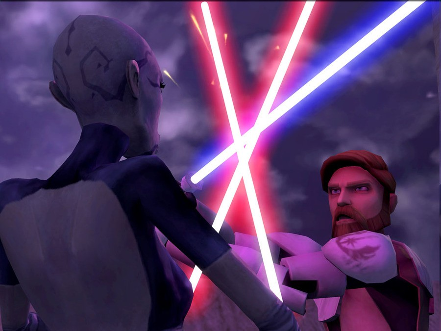 Star Wars The Clone Wars: Lightsaber Duels Screenshot