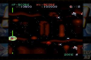 Darius Cozmic Collection Console Screenshot