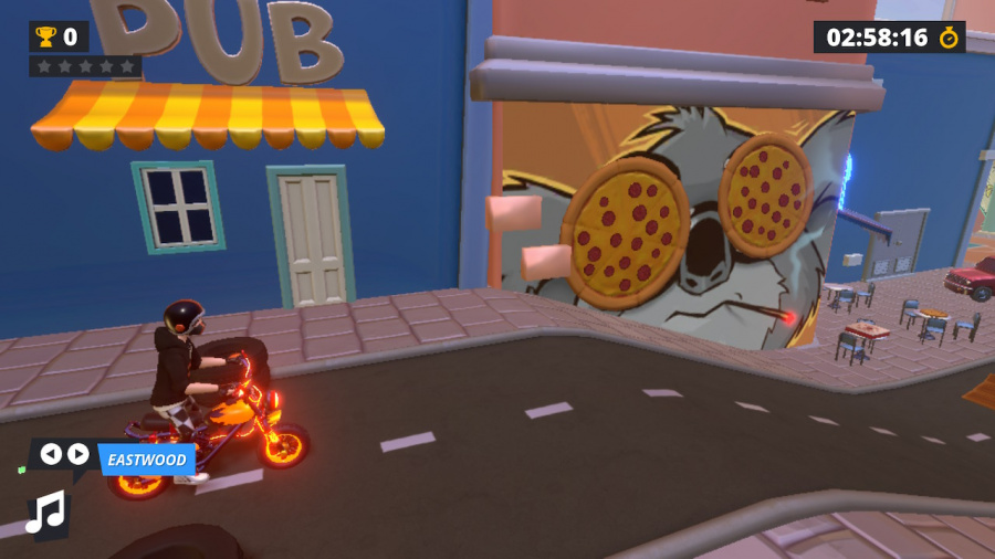 Urban Trial Tricky Review - Screenshot 1 of 5