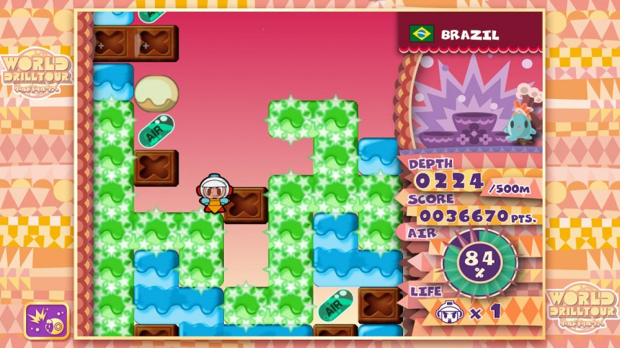 Mr. Driller: DrillLand Review - Screenshot 1 of 6