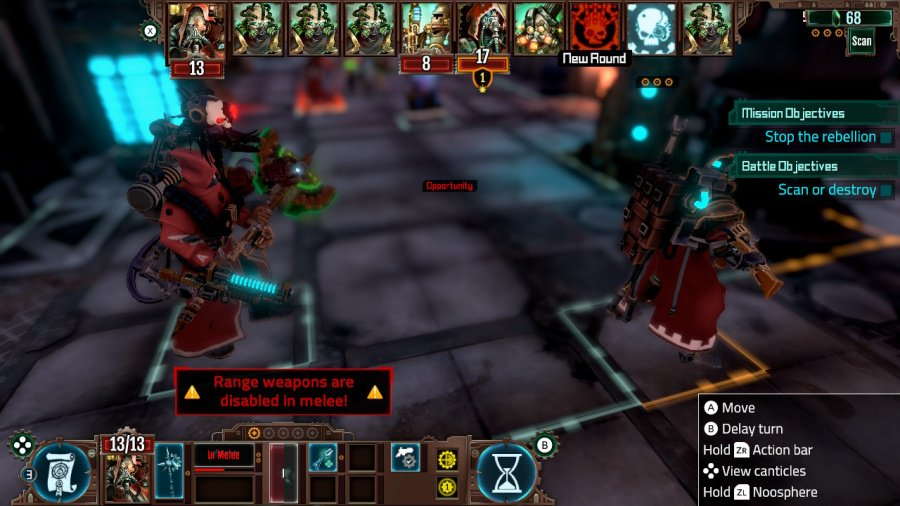 Warhammer 40,000: Mechanicus Review - Capture d'écran 1 de 6