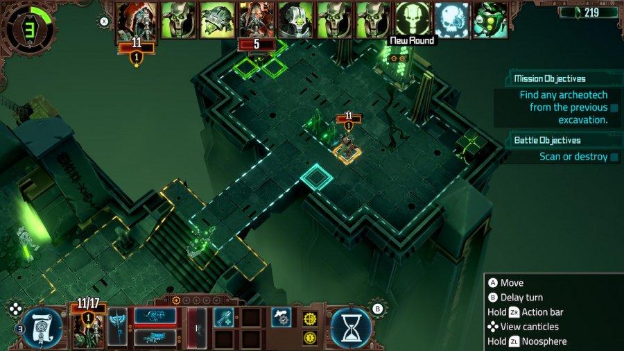 Warhammer 40.000: Mechanicus Review - Captura de tela 1 de 6