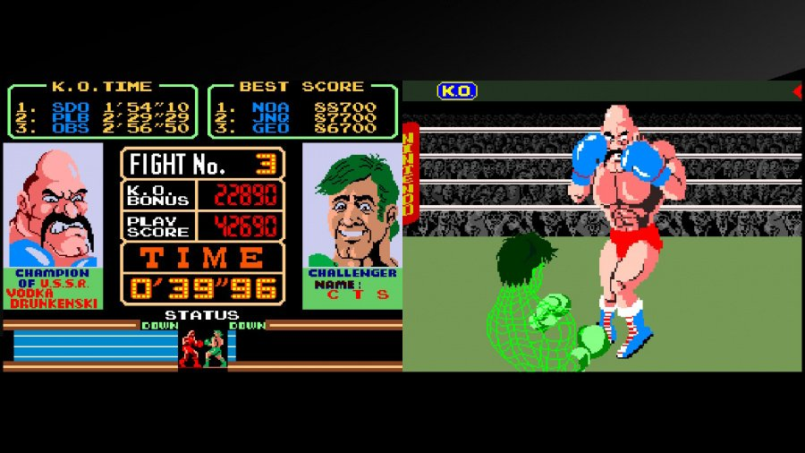 Arcade Archives Super Punch-Out!! Review - Screenshot 1 of 4