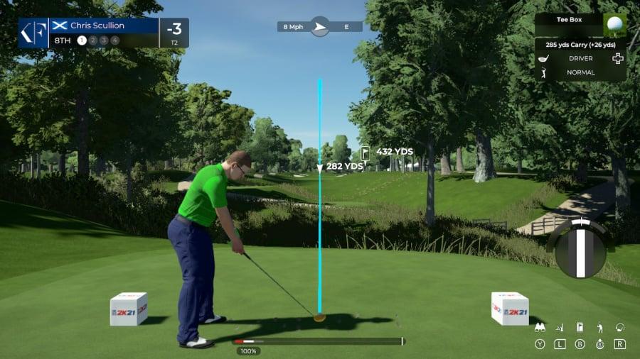 PGA Tour 2K21 Review - Screenshot 1 of 8