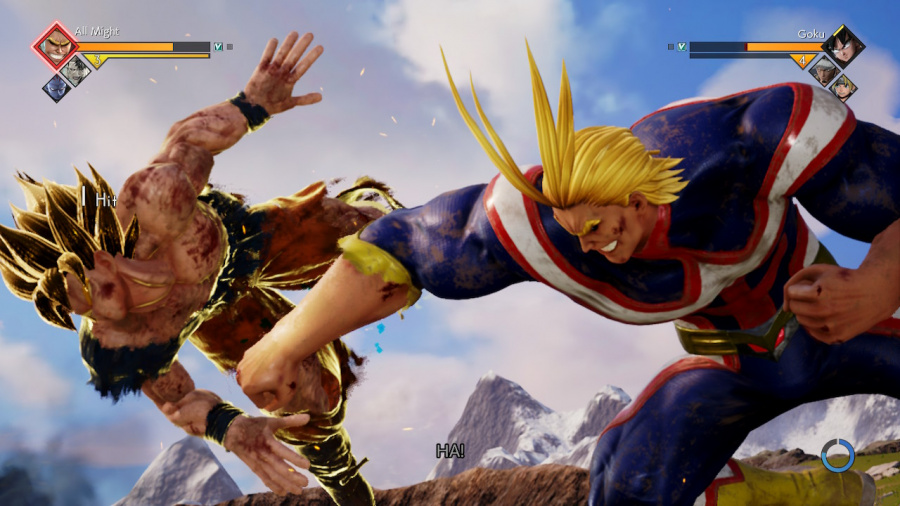 Jump Force Deluxe Edition Review - Screenshot 1 of 4