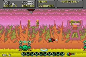 Super Fantasy Zone Screenshot