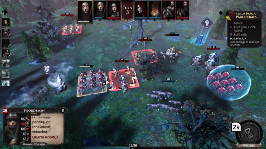Immortal Realms: Vampire Wars Review - Screenshot 1 of 5
