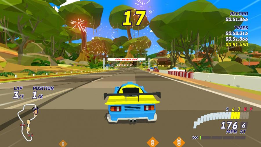 Hotshot Racing Review - Screenshot 1 of 3