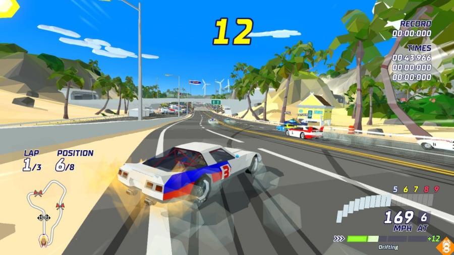 Hotshot Racing Review - Screenshot 1 of 4