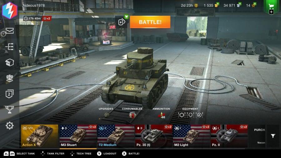 World Of Tanks Blitz Review - Screenshot 1 of 5