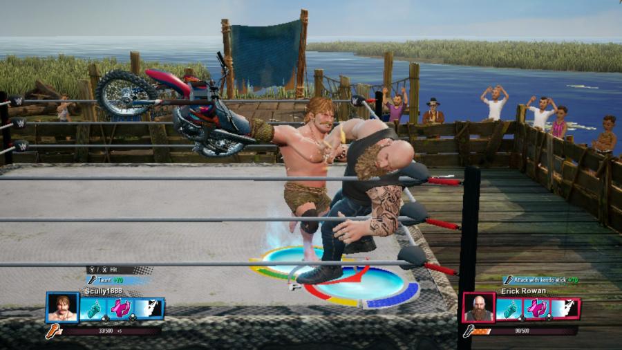 WWE 2K Battlegrounds Review - Screenshot 1 of 8