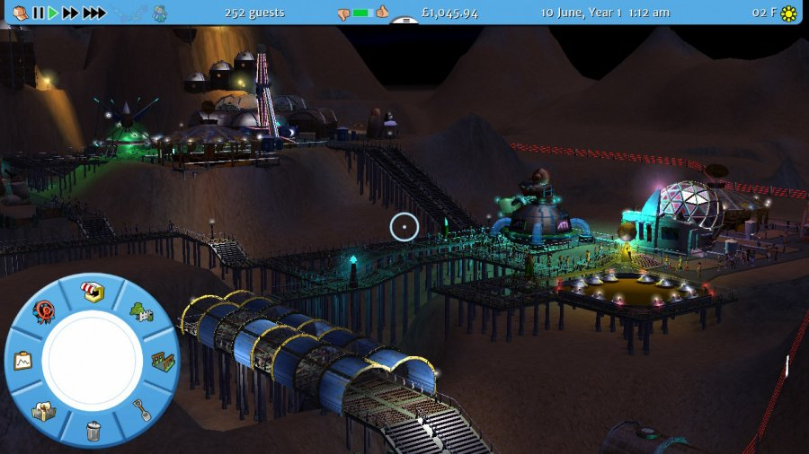RollerCoaster Tycoon 3: Complete Edition Review - Screenshot 1 of 6