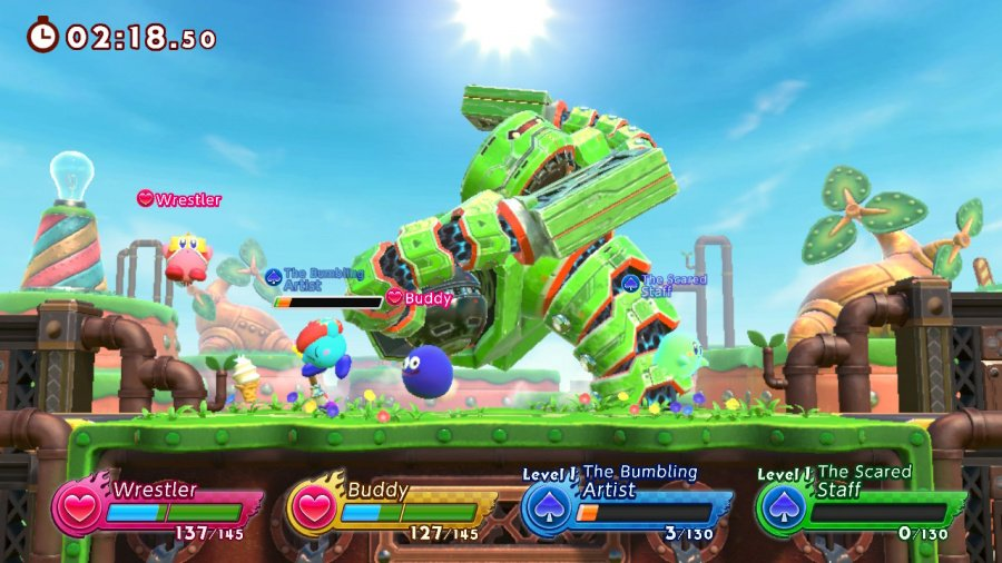 Kirby Fighters 2 Review - Screenshot 1 of 5