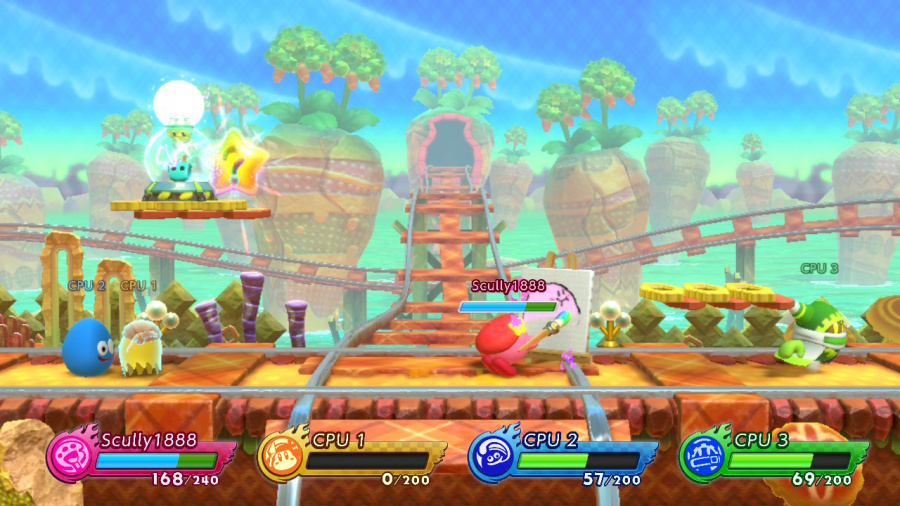 Kirby Fighters 2 Review - Screenshot 1 of 6